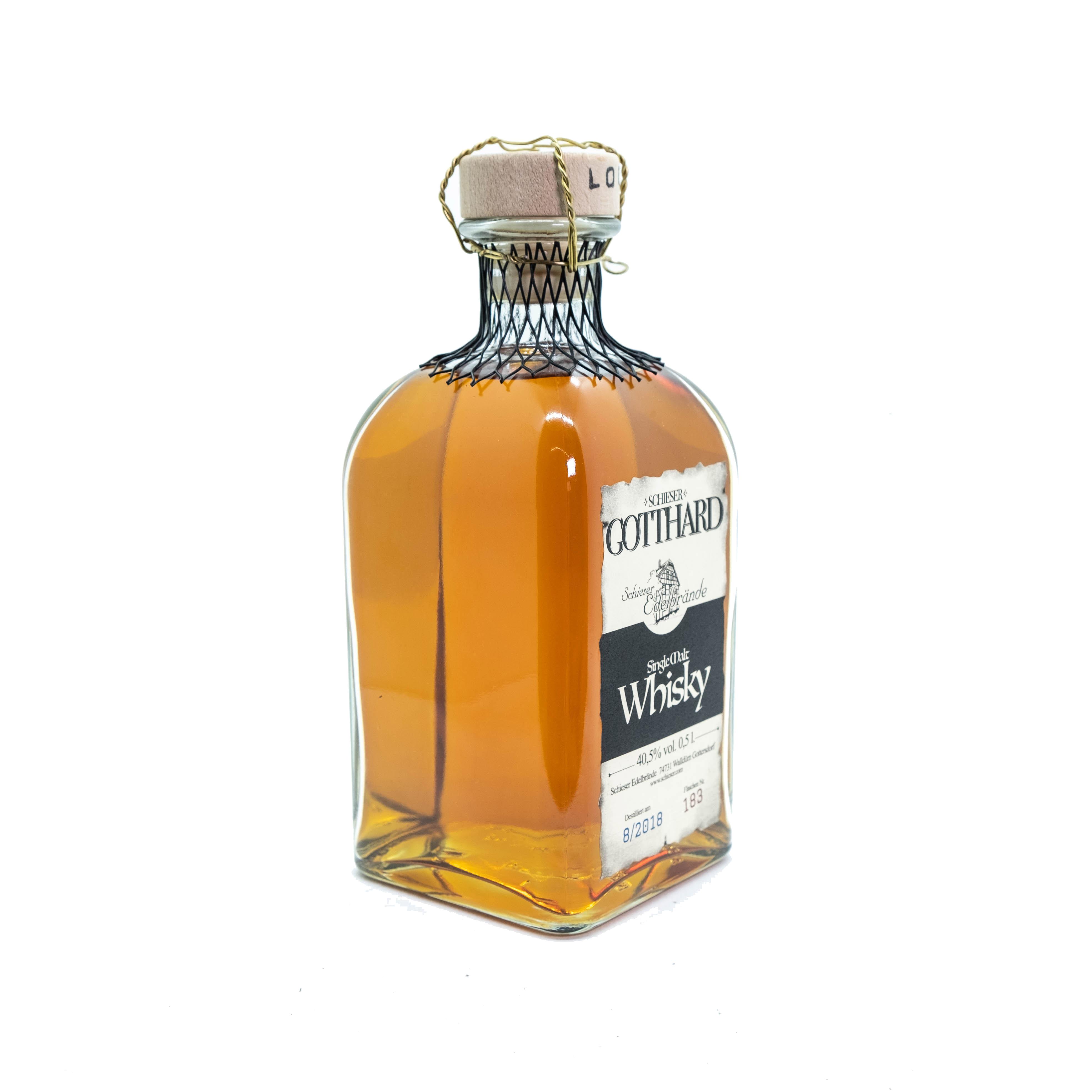 GOTTHARD - Single Malt Whisky
